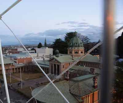 Bathurst Winter Festival View from top of Ferris Wheel Bathurst. Photo by Associate Professor Mark Cordato Orthodontist Ortho Braces Invisalign Blayney Cowra Oberon Mudgee Katoomba Blackheath Leura Mount Victoria Kandos Ryelstone Wallerawang Portland Ilford